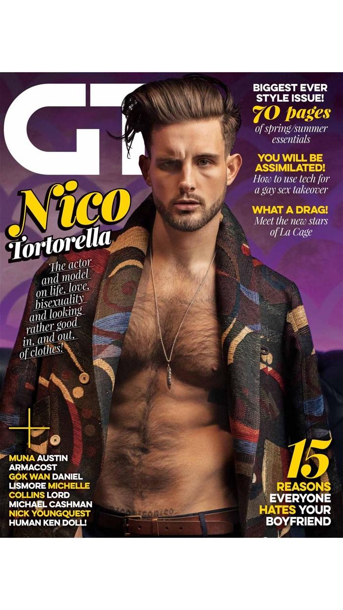 Gay Times - the original gay lifestyle magazine Screenshot