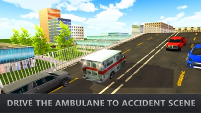 Real Ambulance Rescue Driving - Car Driver Game screenshot two