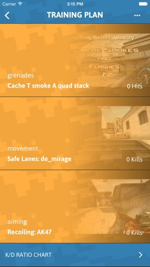 CSGO SKILLS — Skill Trainer for Counter-Strike on the App Store