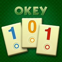 Okey 101 - classic Rummi kind board game