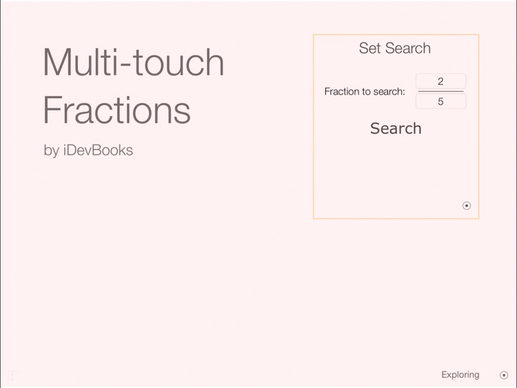 Multi-touch Fractions