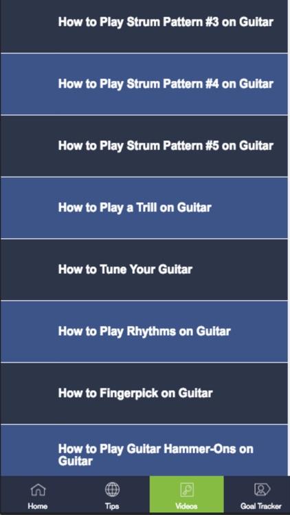 Guitar Lessons-Beginner Guitar Playing Techniques screenshot-3