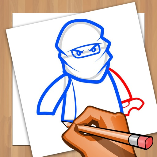 How to Draw and Coloring for Lego Ninjago app logo