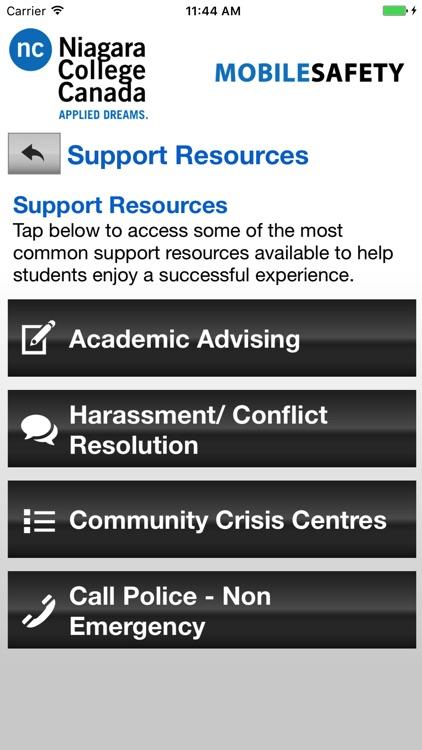 Mobile Safety - Niagara College screenshot-4