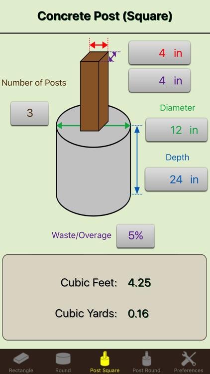 Concrete Calc Elite - Cement Calculator Masonry