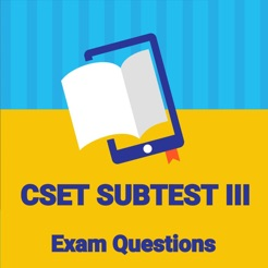 Practice Test for CSET Subtest III on the App Store