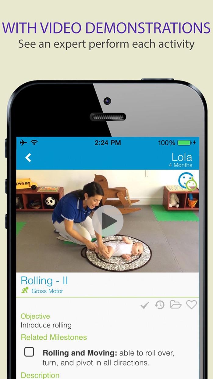 BabySparks - Development App Screenshot