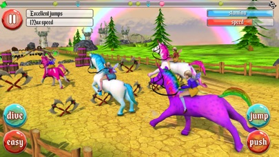 Ultimate Unicorn Dash 3D screenshot two