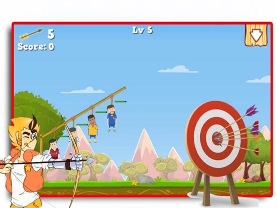 Bow Shoot Rescue Game screenshot 6