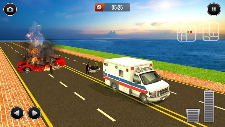 Realistic Ambulance 2017 screenshot-4