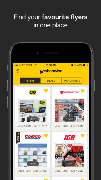 YP Shopwise | Flyers and deals to save on shopping screenshot-0
