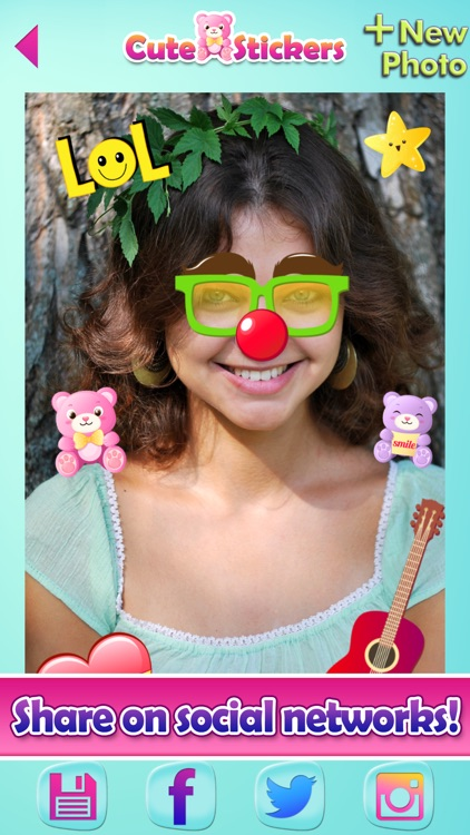 Cute Selfie Stickers for Photos & Picture Editor screenshot-4