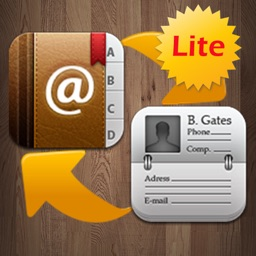 Contacts to vCard Lite