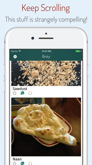 Binky - Satisfy your phone cravings Screenshot
