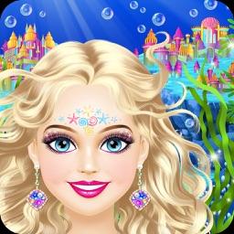 Magic Mermaid - Girls Makeup and Dress Up Game