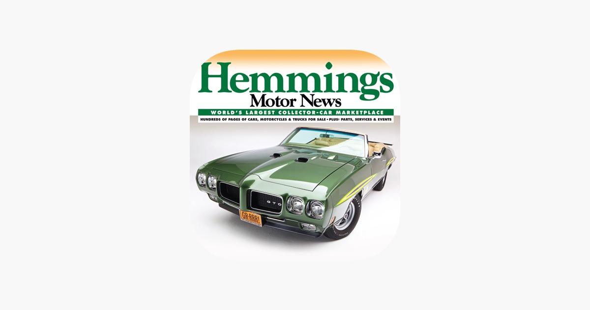 Hemmings Motor News on the App Store