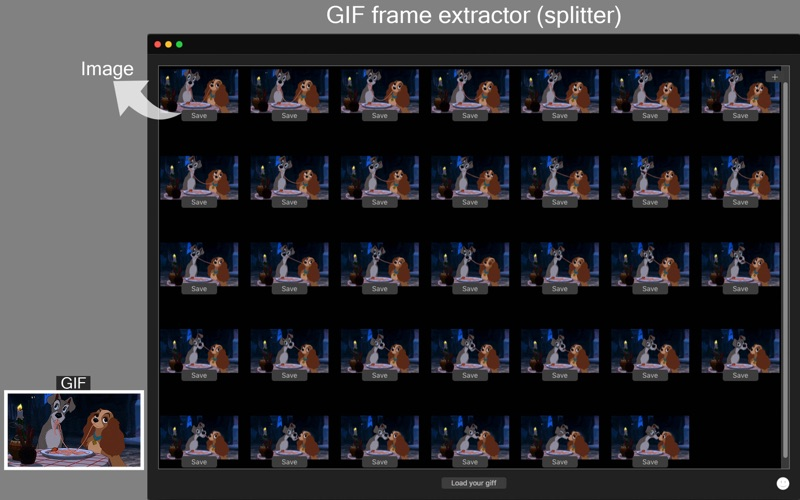 App Shopper: Gif Separate - Split Animated GIF into images (Graphics ...