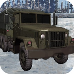 Snow Army Truck Drive:Offroad Truck Simulator