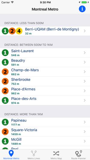 Montreal Metro & Subway on the App Store