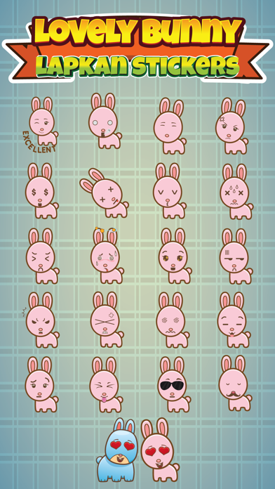 Sticker Me Lovely Bunny screenshot two