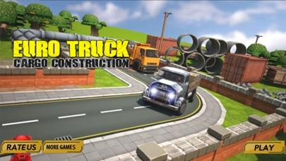 Euro truck cargo construction screenshot three