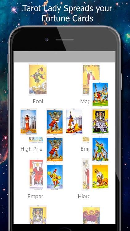 Tarot Cards Spread Reading Fortune Teller screenshot-4