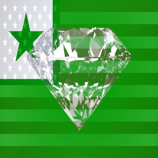 Esperanto Phrases Diamond 4K Edition icon