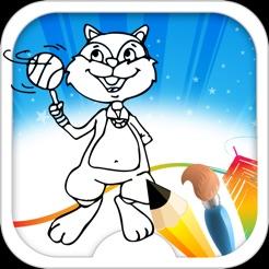 Kedi Boyama Kitabı Oyunu App Storeda