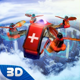 Ambulance Quadcopter Flight
