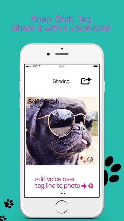 Selfie Graph App screenshot-3