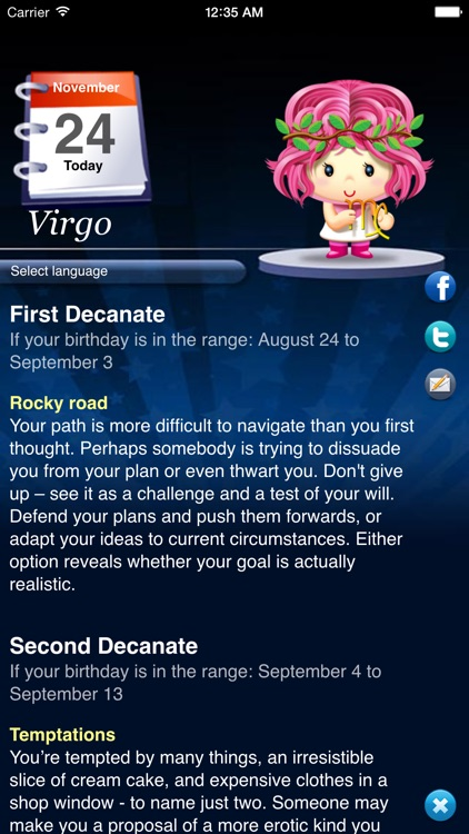 Horoscope HD Pro screenshot-2