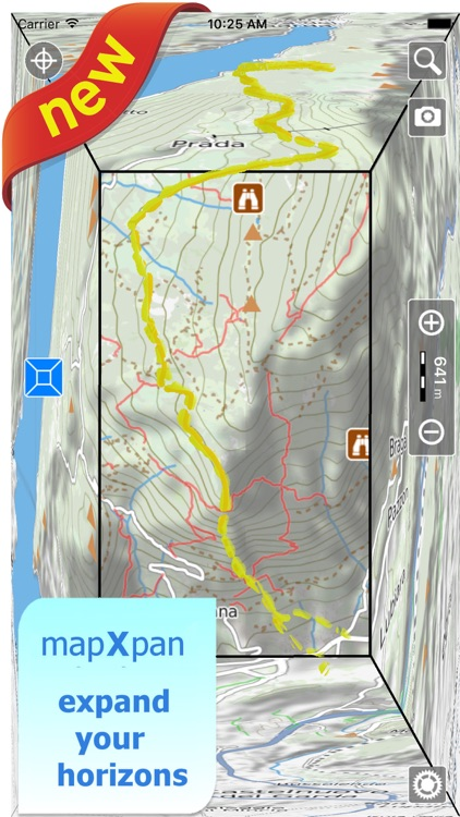Trails of Yellowstone NP- GPS Topo Maps for Hiking