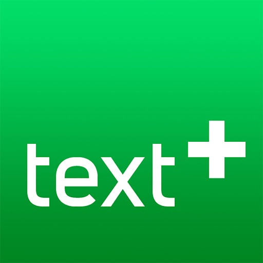 textPlus: Unlimited SMS Texting + Calling app logo