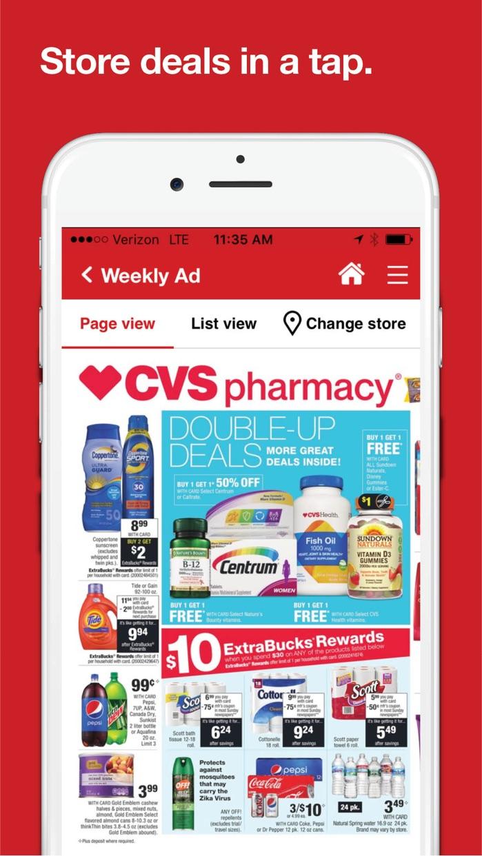 CVS Pharmacy Screenshot