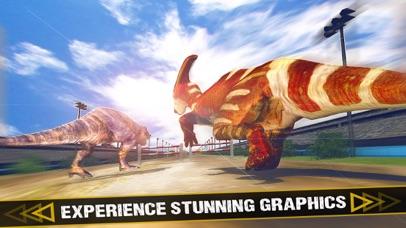 Jurassic Dinosaur - Racing Simulator Game screenshot two