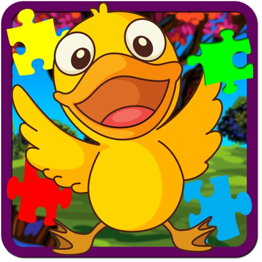 Naughty Baby Ducks Jigsaw Puzzle Game iOS App