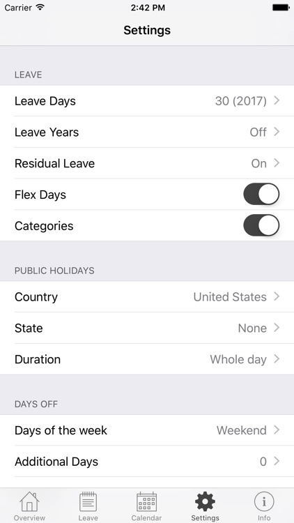 Annual Leave screenshot-4