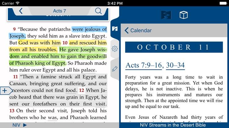 NIV Streams in the Desert Bible screenshot-3