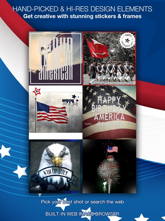 4th Of July Pics Patriotic Pic Stickers America App Price Drops