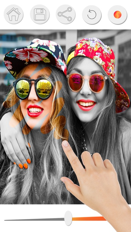 Color effects photo editor - Recolor black & white screenshot-3