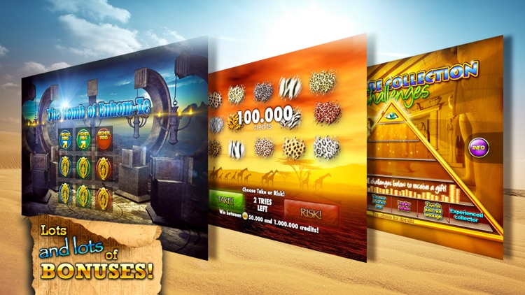 Slots - Pharaoh's Way screenshot-3