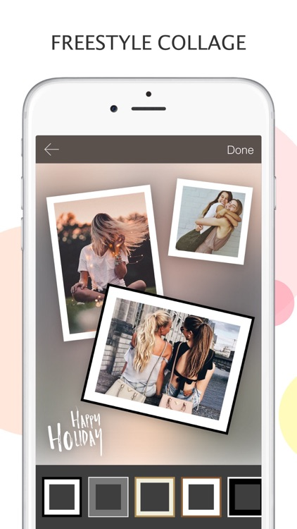 Mixoo - Photo Collage and Picture Editor, Camera screenshot-3