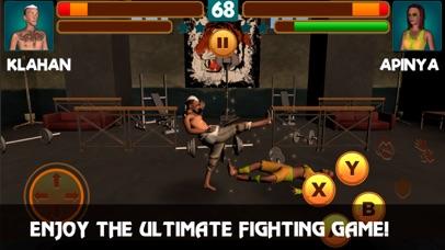 Muay Thai Boxing Combat