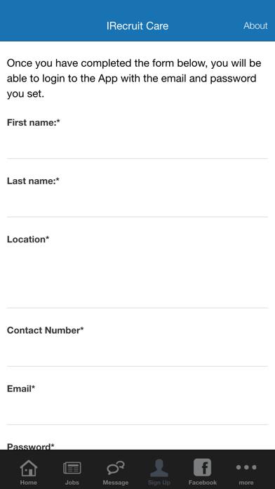 iRecruit Care screenshot three