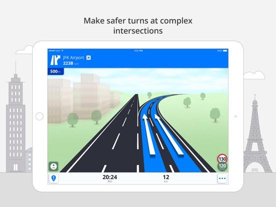 Screenshot #5 for Sygic North America: GPS Navigation, Offline Maps