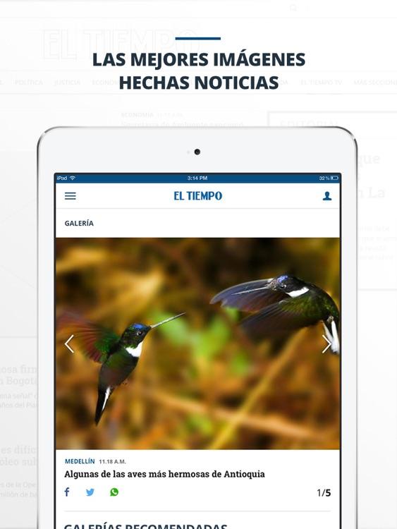 periódico EL TIEMPO screenshot-3