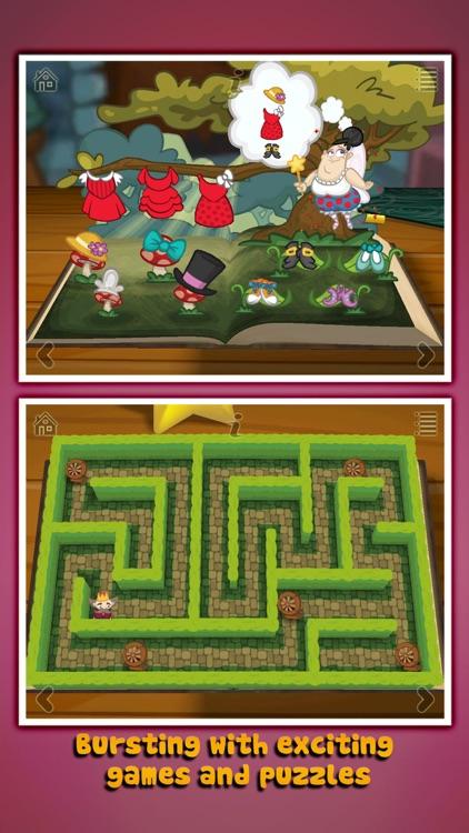 Grimm's Sleeping Beauty ~ 3D Pop-up Book screenshot-4