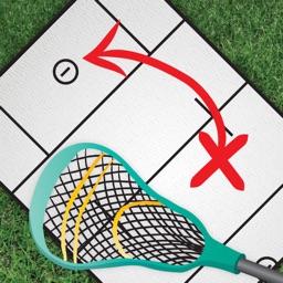 InfiniteLax Whiteboard for Men's Lacrosse