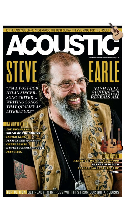 Acoustic Magazine Legacy Subscriber