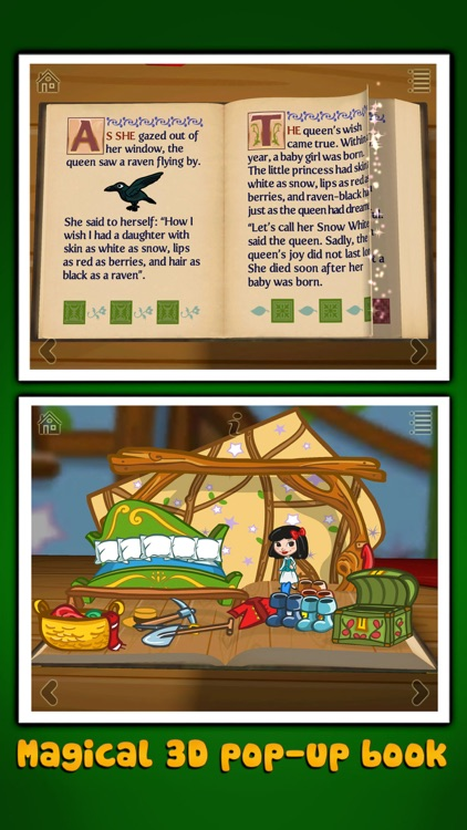 Grimm's Snow White ~ 3D Interactive Pop-up Book